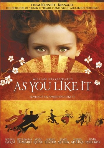 As You Like It As You Like It DVD R Pg