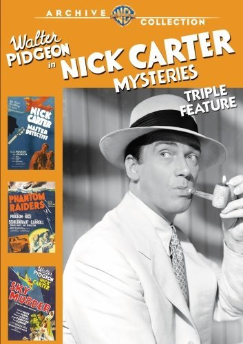 Nick Carter Mysteries Triple F Nick Carter Mysteries Triple F DVD R Nr