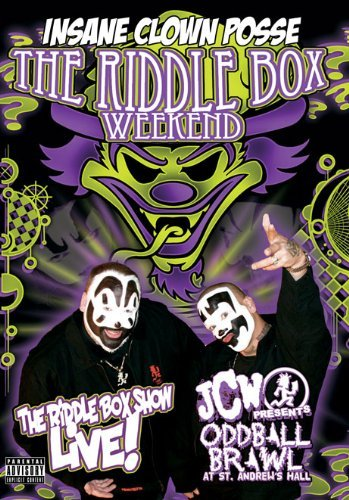 Insane Clown Posse Riddle Box Weekend Explicit Version Nr 2 DVD