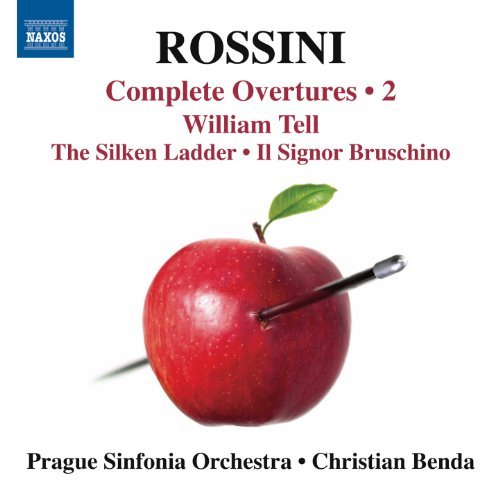Gioachino Rossini Complete Overtures Vol. 2 Prague Philharmonic Choir Prag