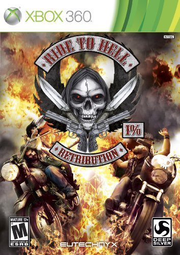 Xbox 360 Ride To Hell Retribution Square Enix Llc M