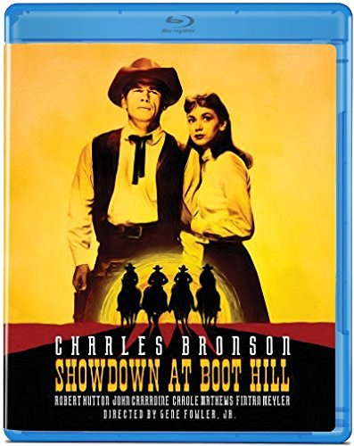 Showdown At Boot Hill (1958) Bronson Charles Blu Ray Ws Nr