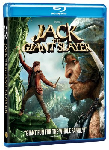 Jack The Giant Slayer Hoult Tucci Nighy Mcgregor Blu Ray Ws Pg13 DVD Uv