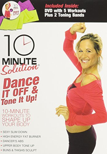 10 Minute Solutions Dance It Off & Tone It Up Kit