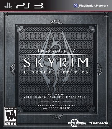 Ps3 Elder Scrolls V Skyrim Legendary Edition