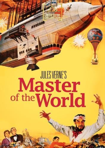 Master Of The World (1961) Price Bronson Hull Ws DVD R Nr