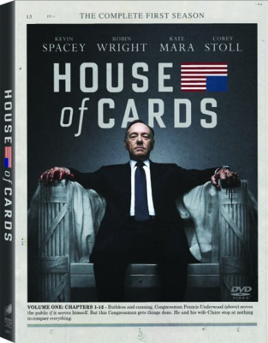House Of Cards House Of Cards Season 1 Ws Nr 4 DVD