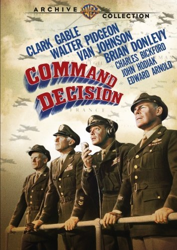Command Decision Gable Pidgeon Johnson DVD Mod This Item Is Made On Demand Could Take 2 3 Weeks For Delivery
