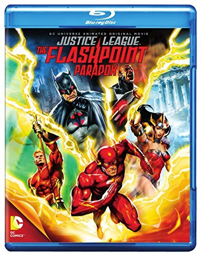 Flashpoint Paradox Justice League Blu Ray Ws Pg13