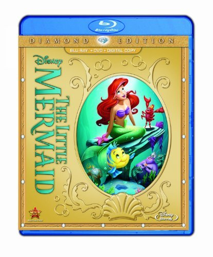 Little Mermaid Disney Diamond Edition G Blu Ray DVD