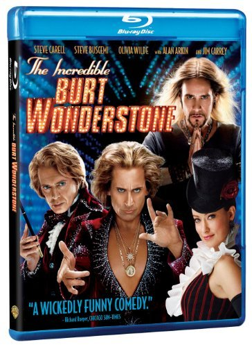 Incredible Burt Wonderstone Carell Carrey Blu Ray Ws Pg13 DVD Uv