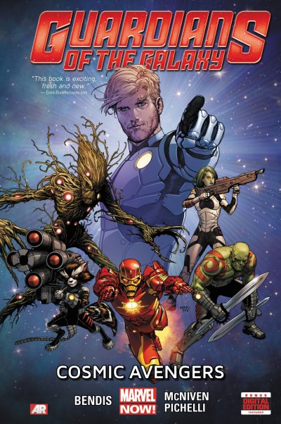 Brian Michael Bendis Guardians Of The Galaxy Volume 1 Cosmic Avengers (marvel Now)