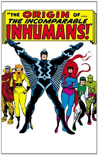 Stan Lee Inhumans The Origin Of The Inhumans