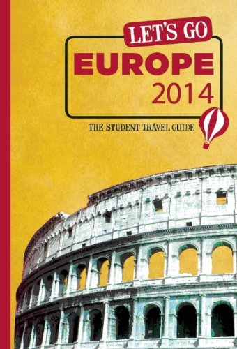 Harvard Student Agencies Inc Let's Go Europe 0054 Edition;2014