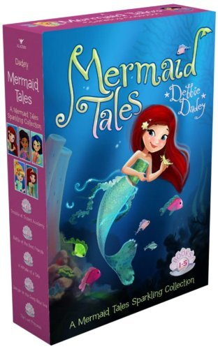 Debbie Dadey A Mermaid Tales Sparkling Collection Trouble At Trident Academy; Battle Of The Best Fr Boxed Set