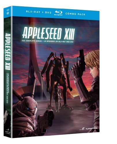 Appleseed Xiii Complete Series Blu Ray Nr 2 Br 2 DVD