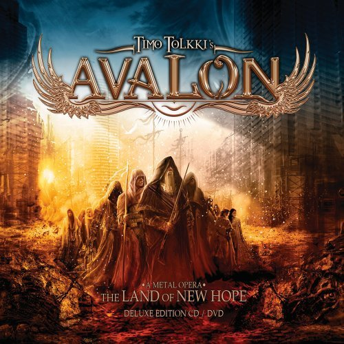 Timo Tolkki's Avalon Land Of New Hope Deluxe Ed. Incl. DVD