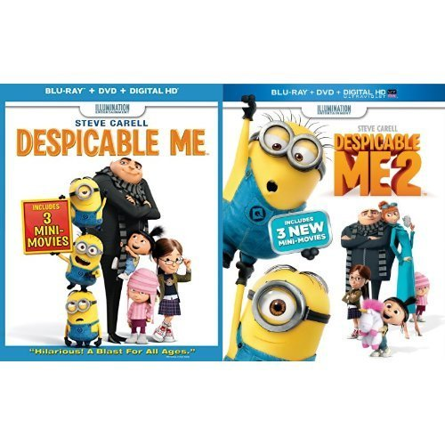 Despicable Me Despicable Me Blu Ray Ws Pg Incl. DVD Dc Uv Movie Cash