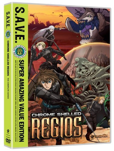 Regios Box Set S.A.V.E Chrome Shelled Ws Nr 4 DVD