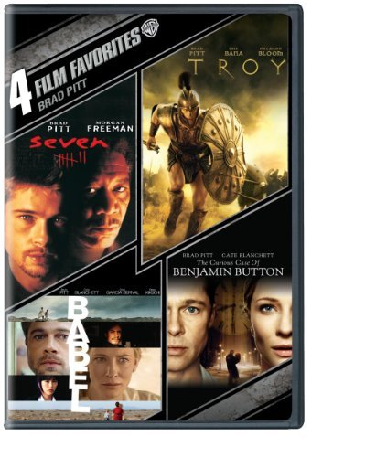 Brad Pitt 4 Film Favorites Nr