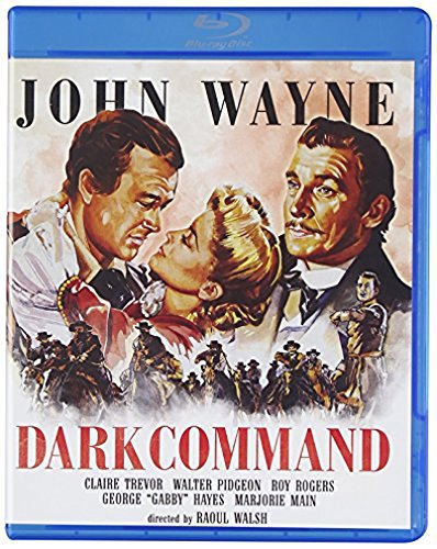 Dark Command (1940) Wayne Trevor Pidgeon Blu Ray Ws Nr