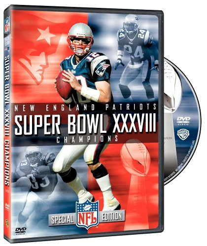 New England Patriots Super Bowl Xxxviii Champions DVD Nr