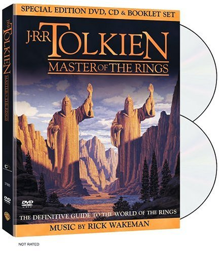 J.R.R. Tolkien Master Of The Rings Clr Nr Incl CD & Booklet