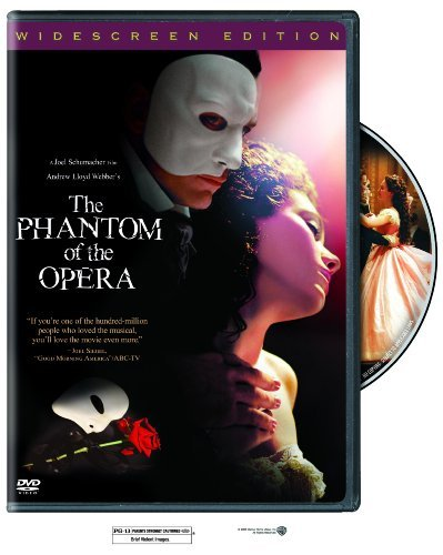 Phantom Of The Opera Wilson Rossum Fleet Mcguire DVD Pg13 Ws