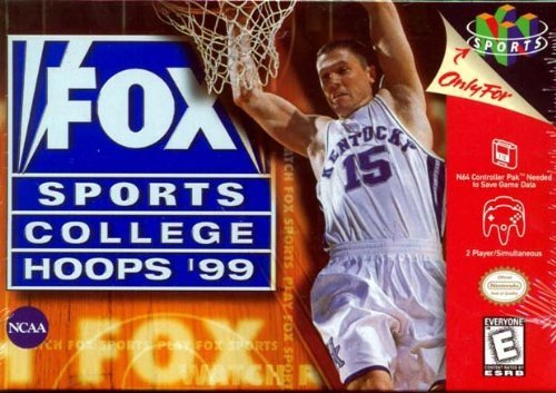 Nintendo 64 Fox Sports College Hoops '99 3d E