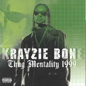Krayzie Bone Thug Mentality 1999 Explicit Version 2 CD Set