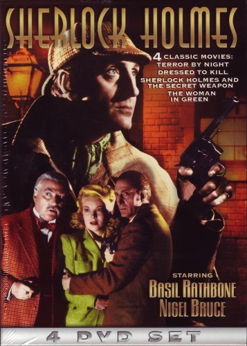 Sherlock Holmes Terror By Night Dressed To Kil Nr 4 DVD