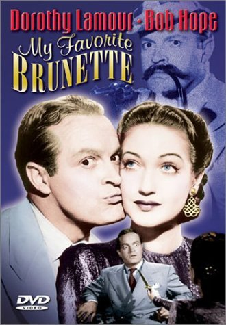 My Favorite Brunette (1947) Hope Lamour Lorre Chaney Hoyt Bw Nr