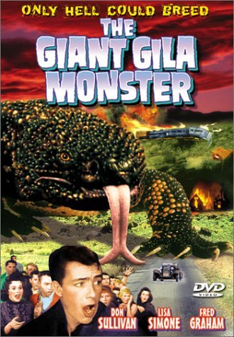 Giant Gila Monster (1959) Sullivan Simone Graham Fisher Bw Nr