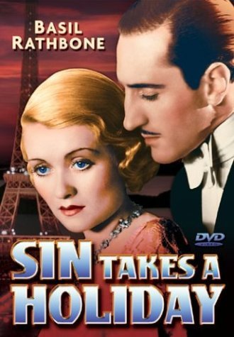 Sin Takes A Holiday Rathbone Taylor Pitts Bw Nr