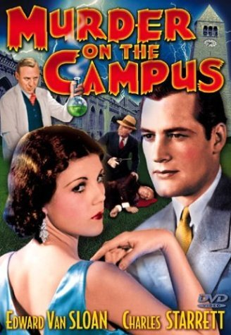 Murder On The Campus Starrett Van Sloan Bw Nr