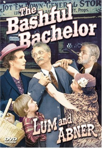 Bashful Bachelor Lum & Abner Pitts Bw Nr