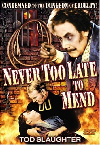 Never Too Late To Mend (1937) Slaughter Tod Bw Nr