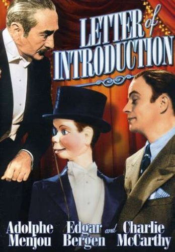 Letter Of Introduction (1938) Menjou Bergen Bw Nr