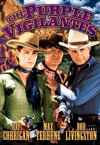 Purple Vigilantes Corrigan Terhune Livingston Bw Nr