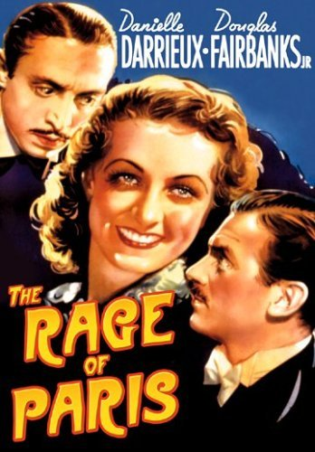 Rage Of Paris Fairbanks Douglas Jr. Bw Nr