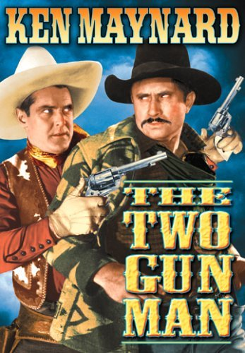 Two Gun Man Maynard Ken Bw Nr
