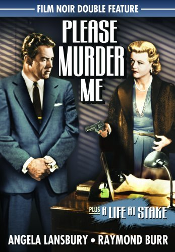 Please Murder Me (1956) Life A Film Noir Double Feature Bw Nr