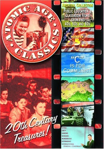 Vol. 5 C Is For Communist Atomic Age Classics Bw Nr