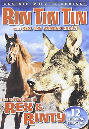Adventures Of Rex & Rinty (193 Rex Rin Tin Tin Richmond Taylo Bw Nr