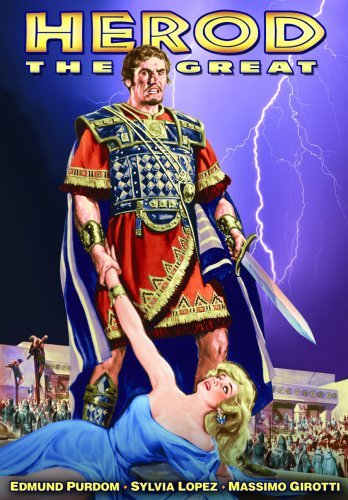Herod The Great (1959) Purdom Edmund Nr