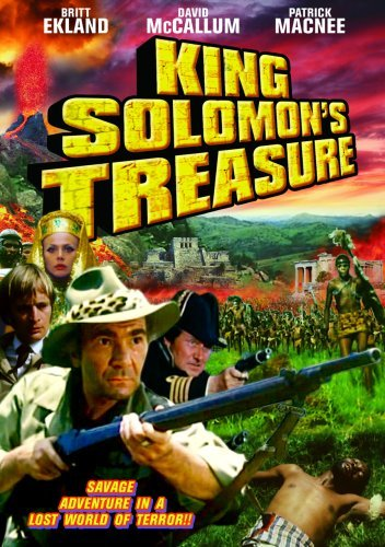 King Solomon's Treasure (1976) Eckland Macnee Mccallum Nr