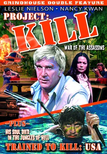 Project Kill (1976) Trained T Grindhouse Double Feature Nr