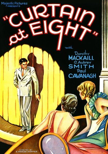 Curtain At Eight (1933) Smith Cavanagh Mackaill Hardy Bw Nr