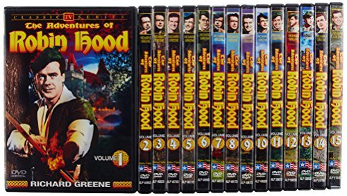 Adventures Of Robin Hood Adventures Of Robin Hood Vol. Vol. 1 15 Nr 15 DVD