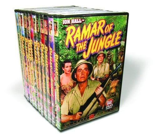 Ramar Of The Jungle Ramar Of The Jungle Vol. 1 11 Bw Nr 12 DVD